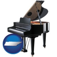 tennessee a grand piano