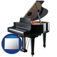 wyoming a grand piano