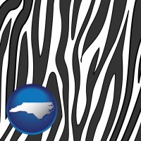 north-carolina a zebra print