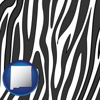 new-mexico a zebra print