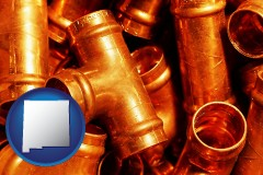 new-mexico copper tee pipe connectors