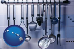hawaii restaurant kitchen utensils