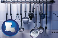 louisiana restaurant kitchen utensils