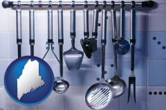 maine restaurant kitchen utensils