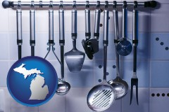 michigan restaurant kitchen utensils