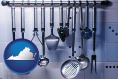 virginia restaurant kitchen utensils