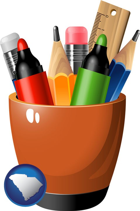 Stationery Retailers In South Carolina