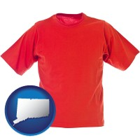 ct a red t-shirt