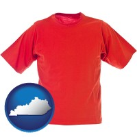 kentucky a red t-shirt