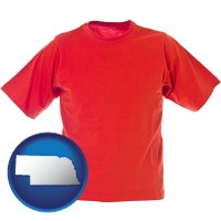 nebraska a red t-shirt