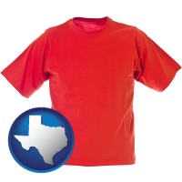 texas a red t-shirt