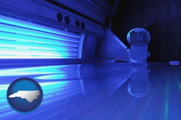 Tanning salon equipment supplies retailers in north carolina for 360 tanning salon
