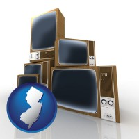 new-jersey vintage televisions