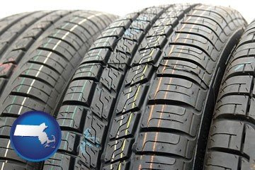 tires - with Massachusetts icon