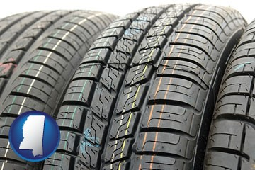 tires - with Mississippi icon