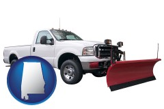 alabama a pickup truck snowplow accessory
