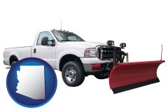 arizona a pickup truck snowplow accessory