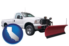 california a pickup truck snowplow accessory