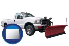 colorado a pickup truck snowplow accessory