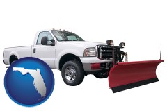 florida a pickup truck snowplow accessory