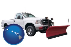 hawaii a pickup truck snowplow accessory