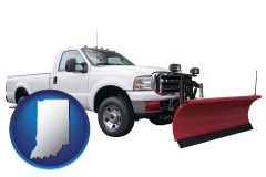 indiana a pickup truck snowplow accessory