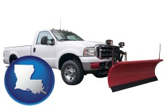 louisiana a pickup truck snowplow accessory