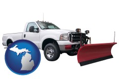 michigan a pickup truck snowplow accessory