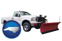 north-carolina a pickup truck snowplow accessory