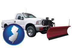 new-jersey a pickup truck snowplow accessory