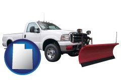 utah a pickup truck snowplow accessory