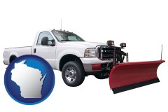 wisconsin a pickup truck snowplow accessory