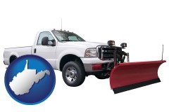 west-virginia a pickup truck snowplow accessory