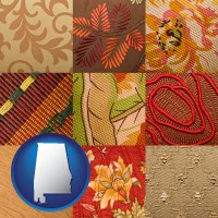 alabama upholstery fabric swatches