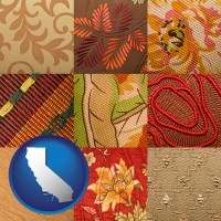 california upholstery fabric swatches