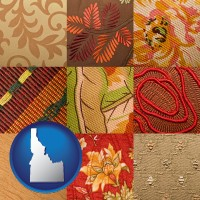 idaho upholstery fabric swatches