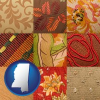 mississippi upholstery fabric swatches