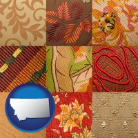 montana upholstery fabric swatches