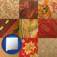 new-mexico upholstery fabric swatches