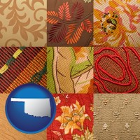 oklahoma upholstery fabric swatches