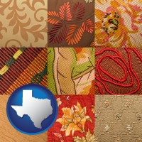 texas upholstery fabric swatches