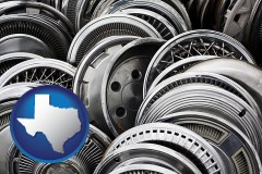 texas used hubcaps