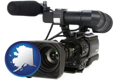 alaska a professional-grade video camera