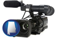alabama a professional-grade video camera
