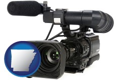 arkansas a professional-grade video camera