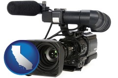 california a professional-grade video camera