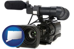 connecticut a professional-grade video camera