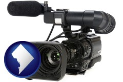washington-dc a professional-grade video camera