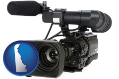 delaware a professional-grade video camera