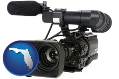 florida a professional-grade video camera